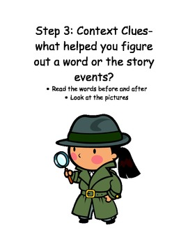 BIG 5 Comprehension Strategies