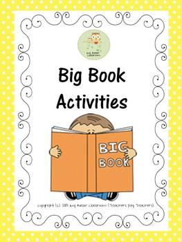 BIG BOOK ACTIVITIES