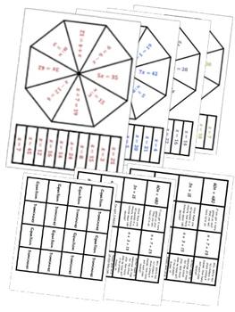 BIG BUNDLE Sixth Grade Common Core Math Stations Second Semester