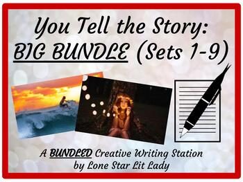BIG BUNDLE - You Tell the Story: A Creative Writing Station - Sets 1-9