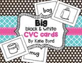BIG Black & White CVC cards