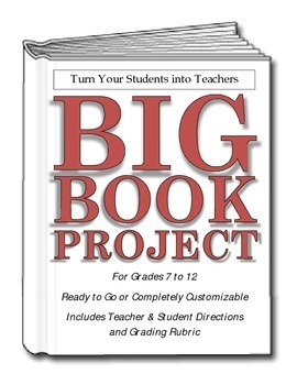 Science Project: Make a BIG Book to Teach Younger Students