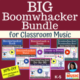 EASY Boomwhackers Song Bundle with Play Along Videos: 6 Or
