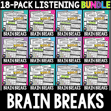 BIG Brain Breaks Bundle! 18 Classical Music Listening Activities