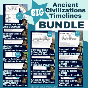 BIG Bundle of Ancient Civilization Timelines