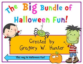 BIG Bundle of Halloween Fun! ~ Emergent Readers, Word Work