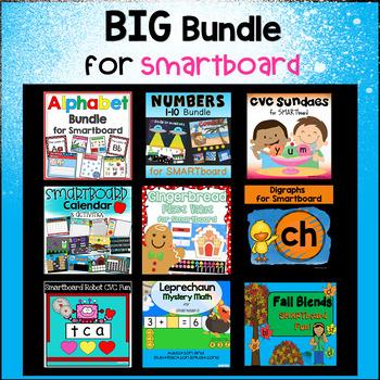 BIG Bundle of Smart Board Activities (Smart Notebook Software required)