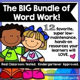 BIG Bundle of Word Work for Literacy Centers , Spelling , Stations , etc