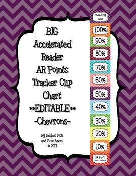 Accelerated Reader (AR) Points Club Clip Chart - BIG - EDI