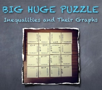BIG HUGE PUZZLE Inequalities and Their Graphs: Engage All Students!