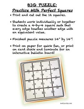BIG HUGE PUZZLES BUNDLE! Cooperative Tasks Also Make Great Bulletin Boards