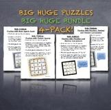 BIG HUGE PUZZLES BUNDLE! Cooperative Tasks Also Make Great