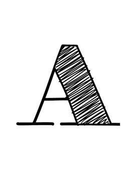 BIG LETTERS! Alphabet Pack [FREEBIE]
