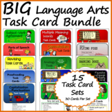 BIG Language Arts Task Card Bundle