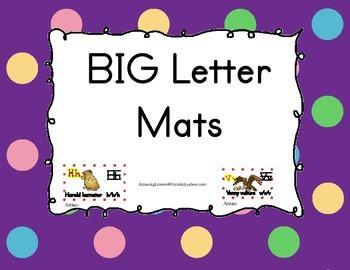 BIG Letter Mats