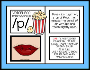 SPEECH SOUNDS PARENT HANDOUTS POSTERS Speech WORKSHEETS