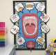 SPEECH THERAPY DECOR: BIG MOUTH POSTER bulletin board speech room decor