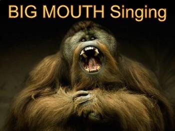 BIG Mouth Singing Orangutan