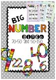 BIG Number Bingo (20-50 & 50-100 & 100-150)