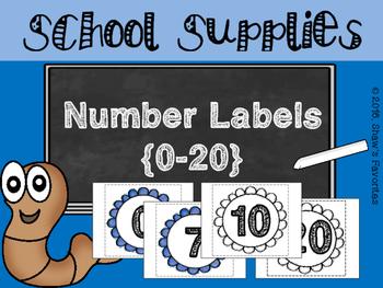 BIG Number Labels