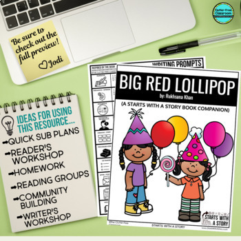 BIG RED LOLLIPOP read aloud lessons