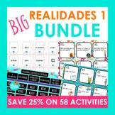 BIG Realidades Auténtico 1 Bundle of Activities | Spanish