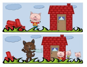 CommonCore The Three Little Pigs and the Big Bad Wolf