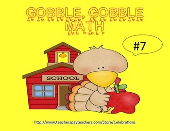BIG SALE TODAY ONLY Gobble,Gobble Math (5-9)