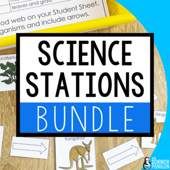 Science Stations Units BUNDLE {Science Centers}