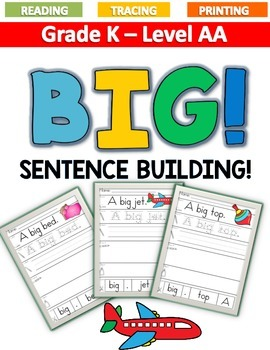 BIG Sentence Building LEVEL AA