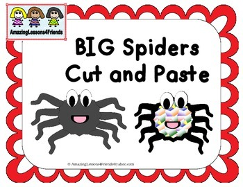 BIG Spider Cut and Paste