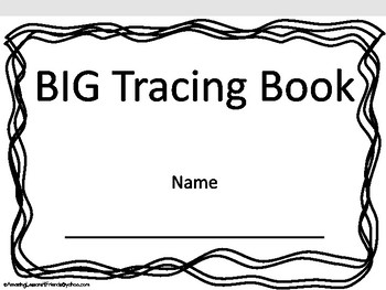 BIG Tacing Book