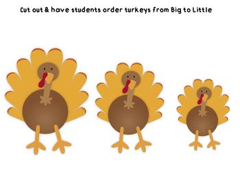 BIG or LITTLE turkeys!