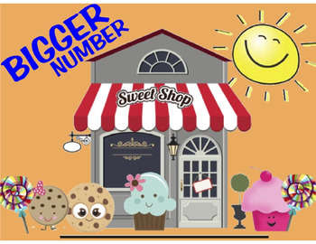 BIGGER Number Sweet Shop
