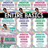 BIGGEST & BEST Bundle: JUST THE BASICS for Grades 3-5 - 1