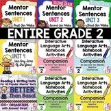 BIGGEST & BEST Mentor Sentence Bundle for SECOND GRADE- 1
