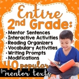 Yearlong Mentor Text Curriculum Bundle: SECOND GRADE