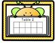 BILINGUAL Bee Theme Ten Frame Table Points (BEHAVIOR MANAGEMENT)
