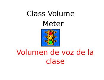 BILINGUAL CLASS VOLUME METER