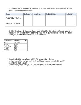 BILINGUAL Chemistry Mixtures and Solutions