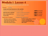 BILINGUAL EngageNY Mathematics Fifth Grade Module 1 Lesson 4