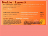 BILINGUAL EngageNY Mathematics Fifth Grade Module 1 Lesson 5