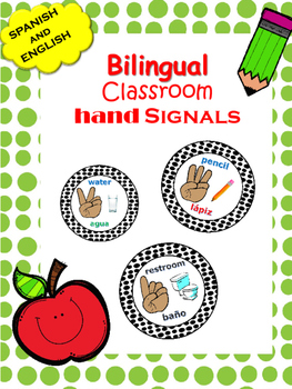 BILINGUAL Hand Signal Posters