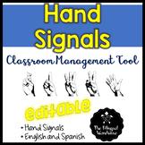 BILINGUAL Hand Signals for Classroom Management
