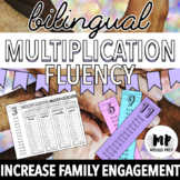 BILINGUAL MULTIPLICATION FACT FLUENCY HOMEWORK