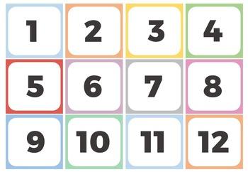 BILINGUAL NUMBERS 1 - 20