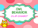 BILINGUAL OWL BEHAVIOR CLIP CHART  FREEBIE