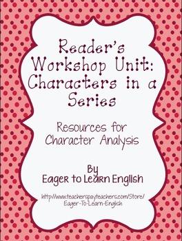 BILINGUAL SET: Readers' Workshop Characters in a Series