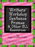 BILINGUAL BUNDLE: Writers' Workshop Sentence Frames & Other Resources
