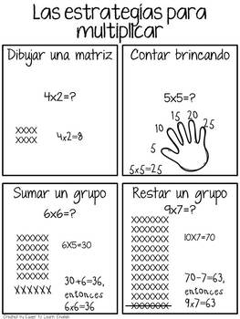 BILINGUAL SET: Third & Fourth Grade Math Reference Pack